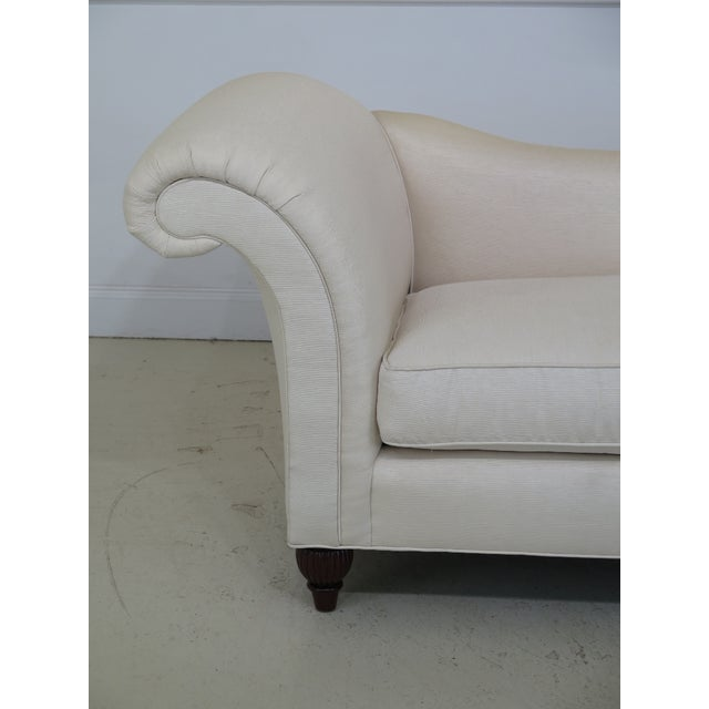 BAKER off-white upholstered chaise lounge. The piece is about 5 years old. Details: High Quality Construction Clean Well...