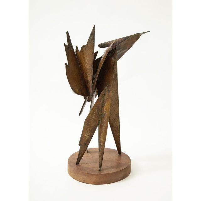 Metal Homer Gunn Brutalist Sculpture For Sale - Image 7 of 12