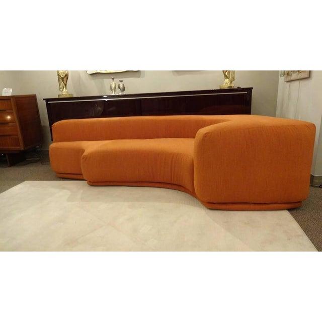Roberto Pamio, Noti Massari and Renato Toso Mid Century Sectional Sofa,  model \