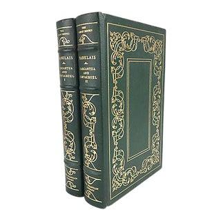 The Histories of Gargantua & Pantagruel Vols. 1 & 2/Franklin Library - a Pair For Sale