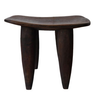 24-Inch Vintage African Senufo Stool For Sale