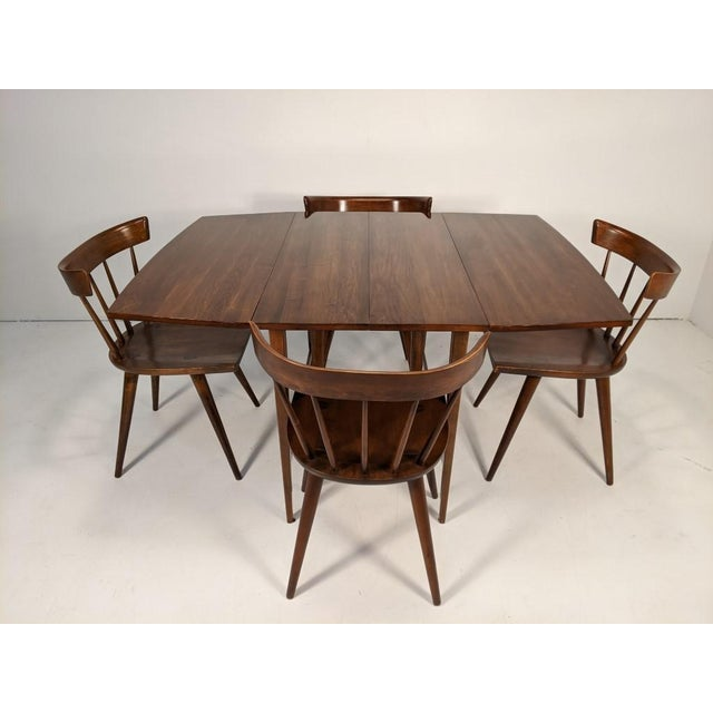 Mid 20th Century Mid Century Modern Paul McCobb Solid Maple Drop Leaf Dining Set - 7 Pieces For Sale - Image 5 of 13