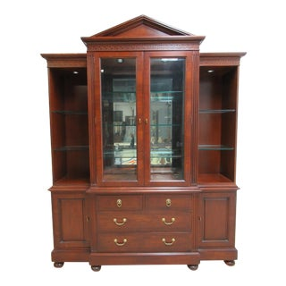 Lineage by Drexel Heritage Neo Classical China Cabinet For Sale