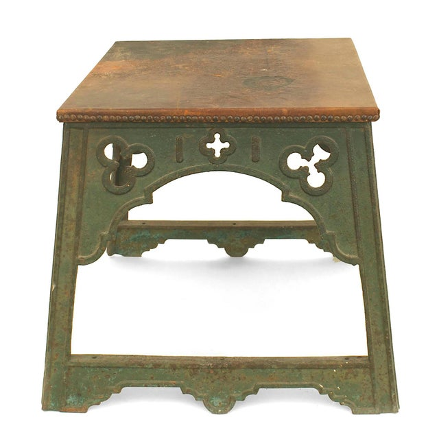 Arts & Crafts English Arts & Crafts Iron Coffee Table For Sale - Image 3 of 4