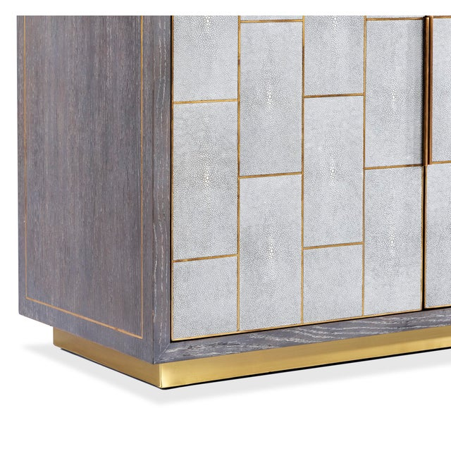 2010s Interlude Home Fabienne Bar Cabinet For Sale - Image 5 of 6