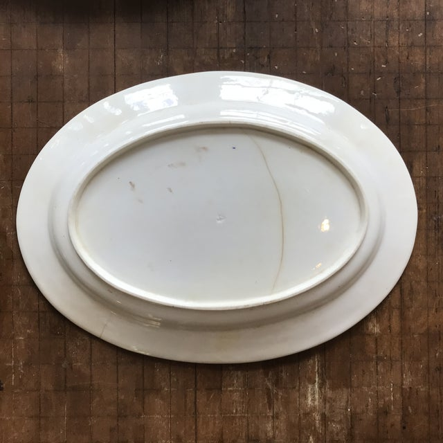1820s Gaudy Ironstone Platters - a Pair For Sale - Image 10 of 11