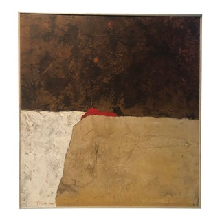 1970s Modernist Painting by w.l. Scruggs For Sale