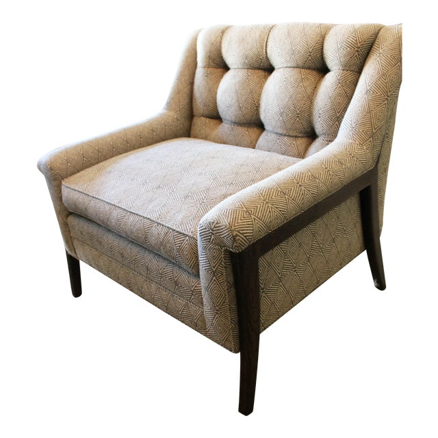 Mid-Century-Style Club Chair - Image 1 of 3