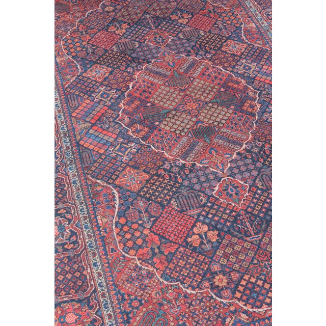 Afshar features old world charm and high end design that is awakened by over-dyed, rich colors. Masterful, sharp designs...