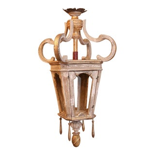 Large French Lantern For Sale