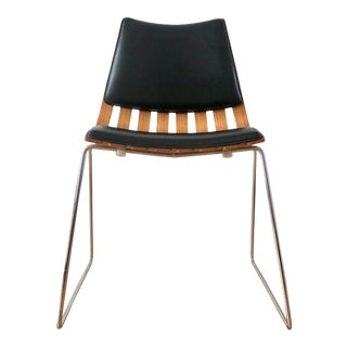 Hans Brattrud for Hove Mobler Padded Teak Scandia Chair For Sale
