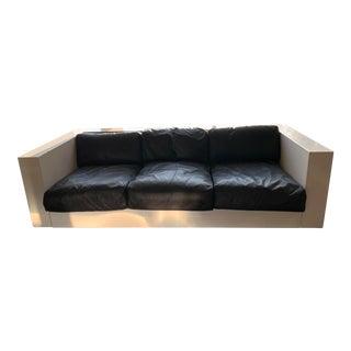 Mid-century Modern Saratoga Sofa by Lella and Massimo Vignelli For Sale