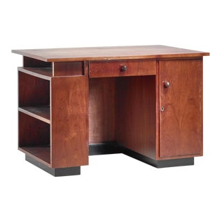 j.a. Muntendam Desk and Stool, Dutch, 1920s/30s For Sale