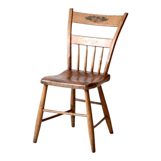 Antique Primitive Chair For Sale