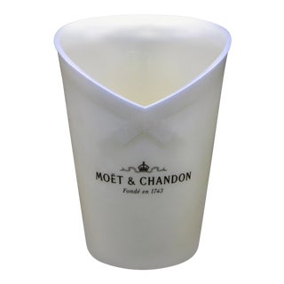 Vintage Moet and Chandon French Champagne Bucket For Sale