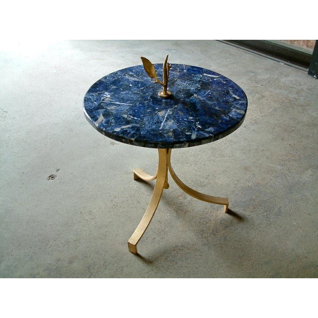 1998 United States Maurice Beane Studios Twig Leaf Tables - Pair For Sale - Image 9 of 9