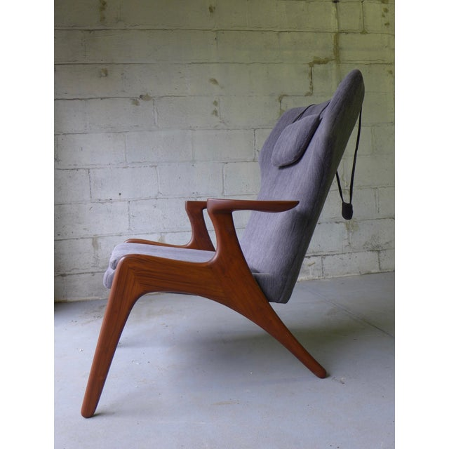 Mid-Century Lounge Chair - Image 4 of 7