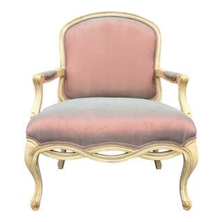 Henredon Oversized Bergere Chair For Sale