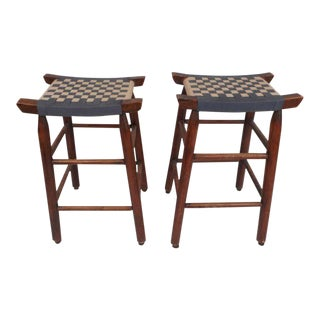 Pair of Vintage Stools For Sale