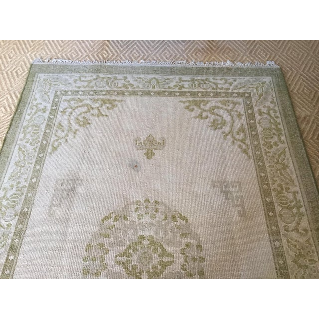 """Vintage Asian Area Rug - 5'11"""" X 9'4"""" - Image 4 of 5"""