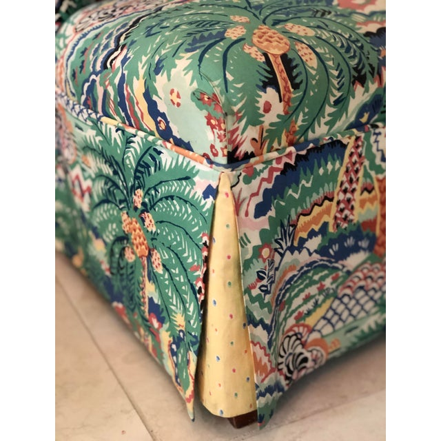 Boho Chic Style Upholstered Vanity Chair For Sale - Image 12 of 13