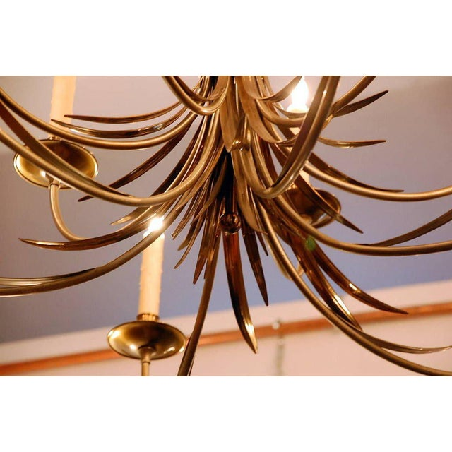 1960s 1960s Maison Charles Large French Chandelier For Sale - Image 5 of 9