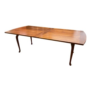 Custom Walnut Extension Table, by Cottage Table San Francisco For Sale