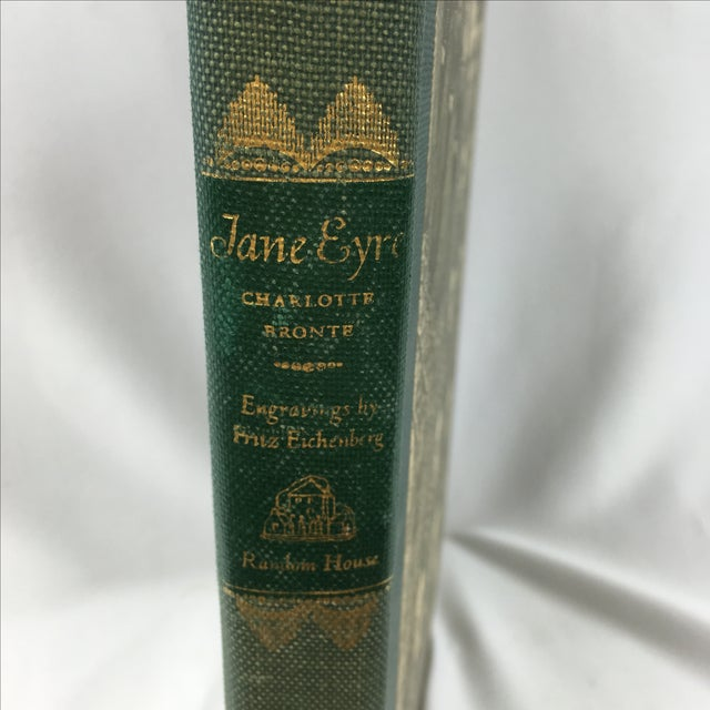 1943 Book With Art, Charlotte Bronte's Jane Eyre - Image 6 of 7