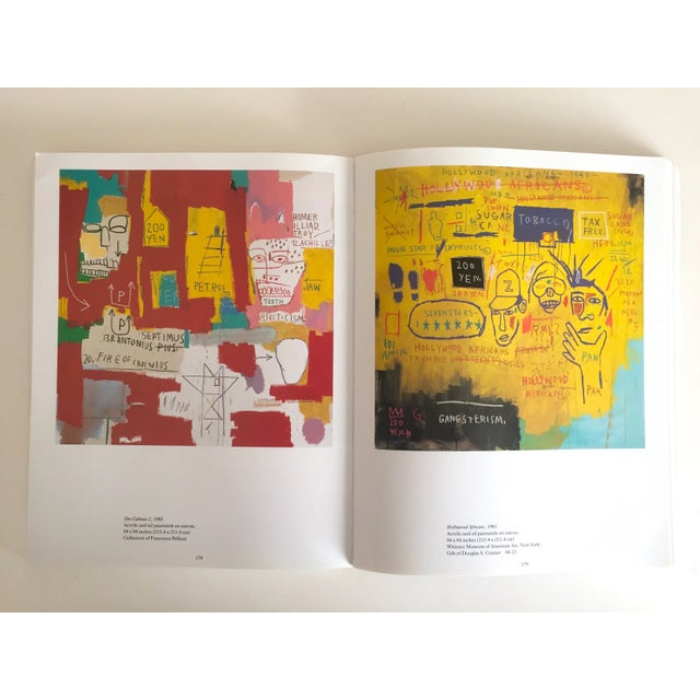 Cardboard Jean Michel Basquiat Rare 1st Edtn Vintage 1992 Iconic Whitney Retrospective Exhibition Collector's Hardcover Art Book For Sale - Image 7 of 13