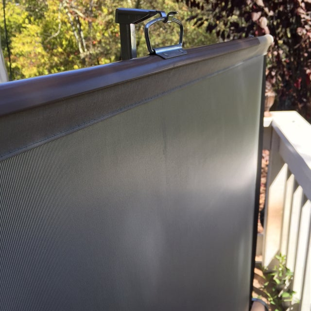 Mid Century Wards Portable Projection Screen - Image 8 of 11