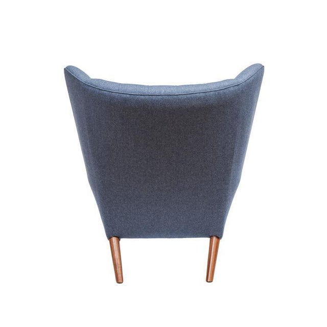 Modern Pavel Wingback Armchair For Sale - Image 3 of 6