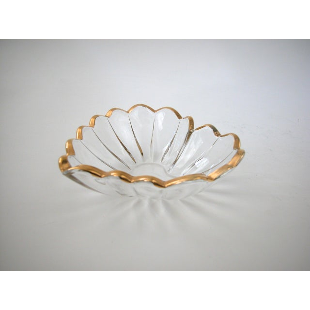 Glass and Gold Heart Dish - Image 6 of 9