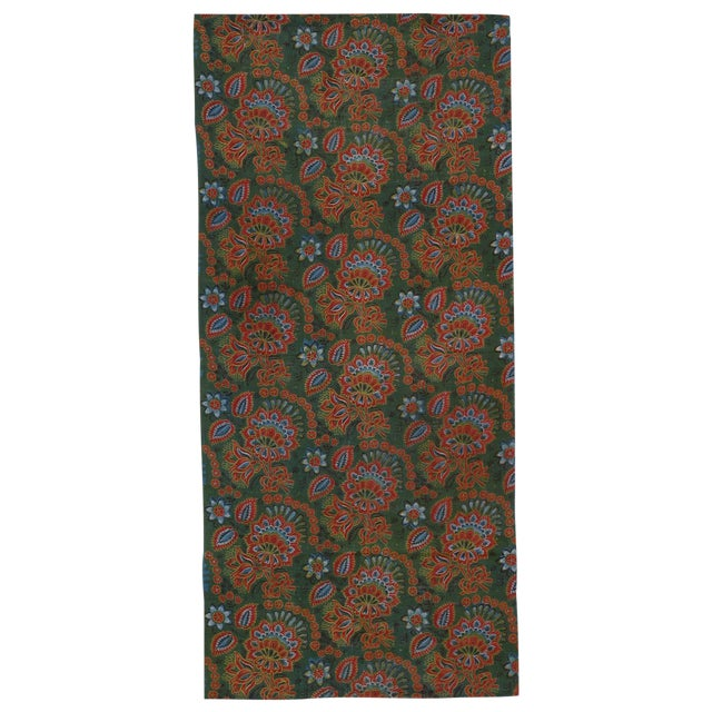 Antique Russian Fabric Panel For Sale