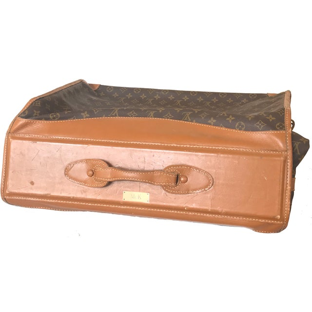 Louis Vuitton 1970s Vintage Louis Vuitton Garment Bag For Sale - Image 4 of 13