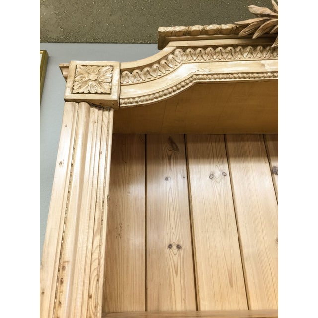 Antique French Pine Bookcase - Image 4 of 6