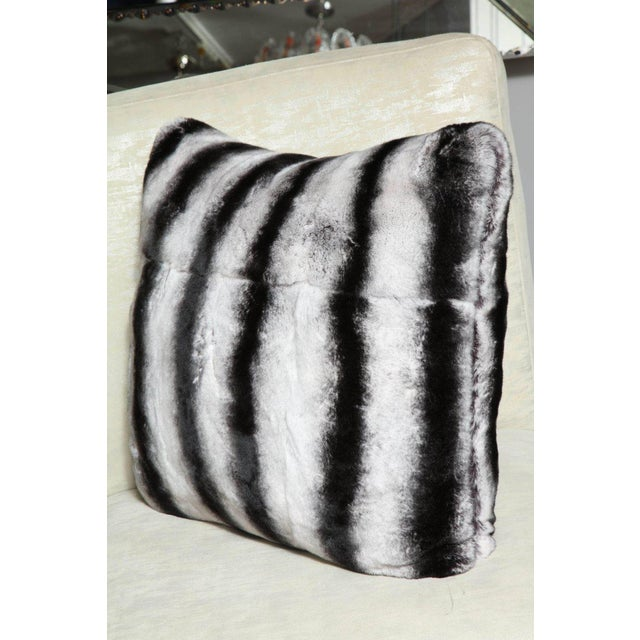 Venfield Custom Rex Rabbit Pillow For Sale - Image 4 of 6
