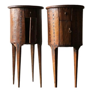 Pair of Petit 17th C. Cabinets For Sale