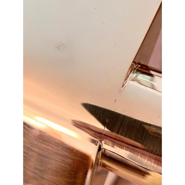 Cedric Hartman Brass / Stainless Steel Height Adjustable / Swivel Floor Lamps - Set of 2 For Sale - Image 11 of 13