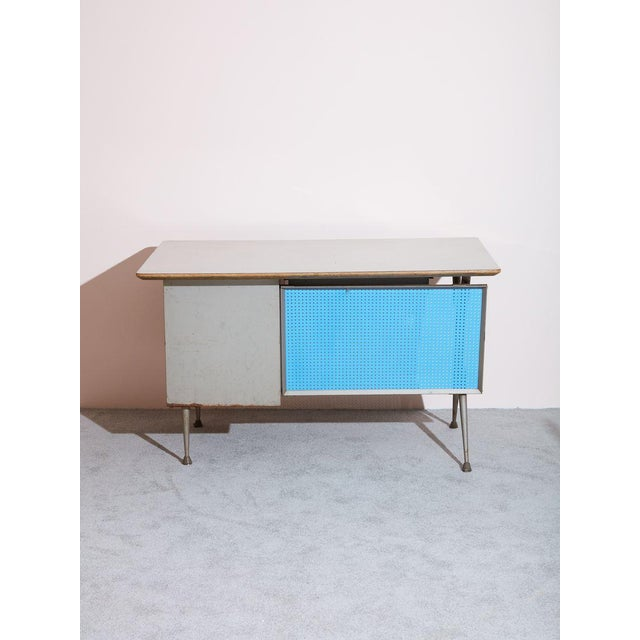 1950s Vintage Raymond Loewy Desk For Sale - Image 5 of 5