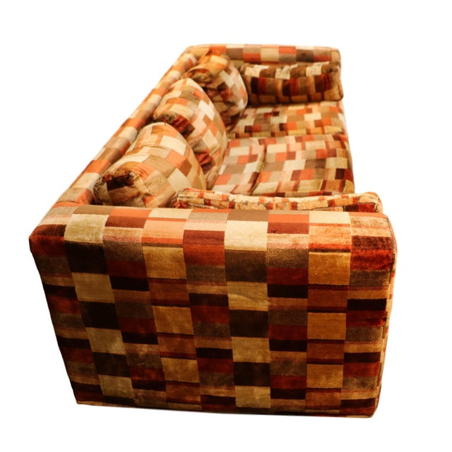 Mid-Century Milo Baughman Style Sofa - Image 4 of 10