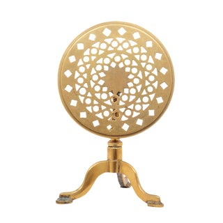 Brass Stand / Side Table For Sale