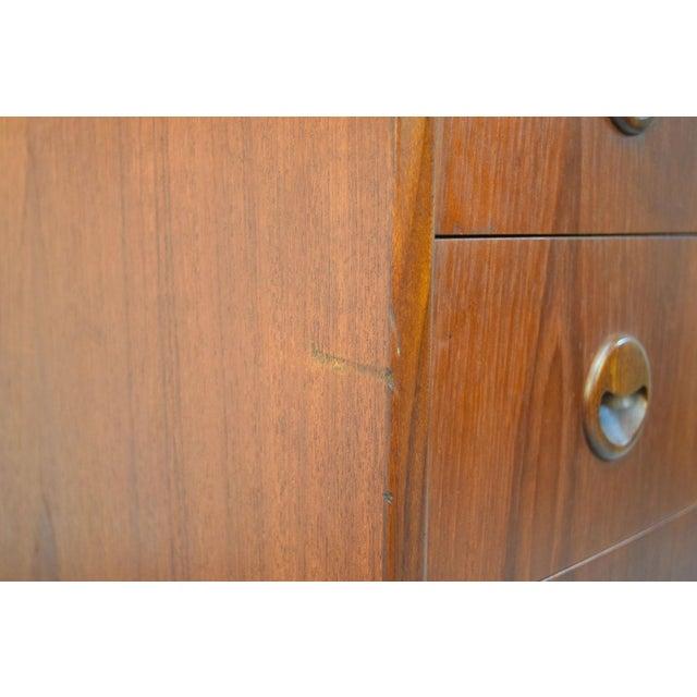 Kai Kristiansen Danish Teak Bow-Front Dresser - Image 9 of 11