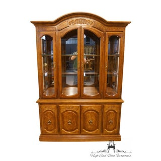 Late 20th Century Italian Neoclassical Buffet With Lighted Display China Cabinet Preview