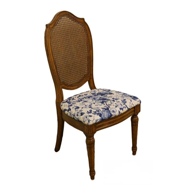 Thomasville Furniture Tapestry Collection Cane Back Dining / Side Chair For Sale - Image 12 of 12