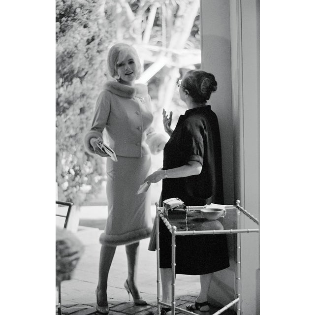 """Figurative """"Marilyn Monroe in a Suit"""" Photograph by Lawrence Schiller, 19/75 For Sale - Image 3 of 3"""