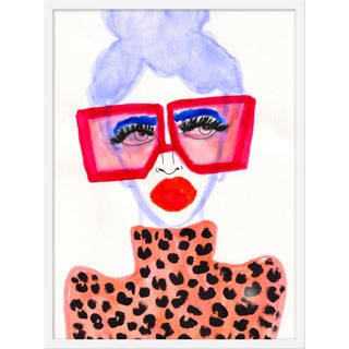 "Medium ""Colorful Girl"" Print by Kendra Dandy, 24"" X 32"" For Sale"