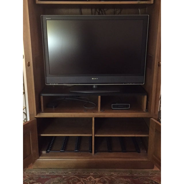 Ethan Allen Entertainment Center - Image 5 of 7