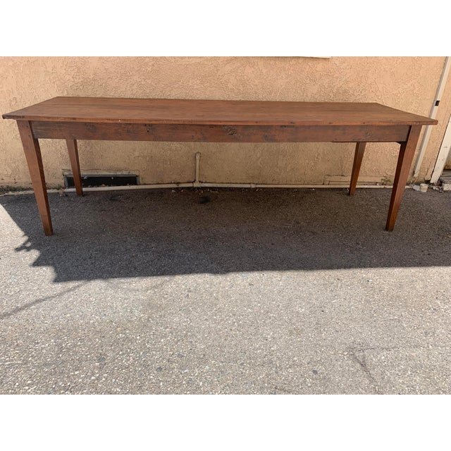Early 19th Century Antique French Farm/Dining Table For Sale - Image 5 of 5