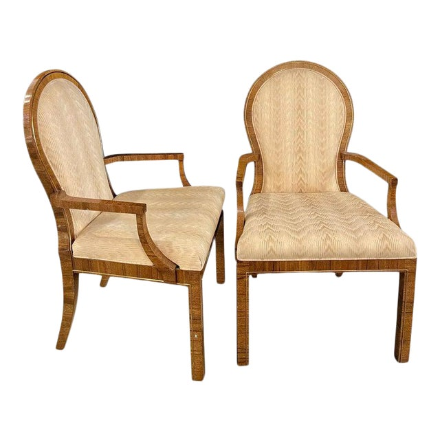 Milo Baughman Arm or Office Chairs, Mid-Century Modern, Mastercraft - a Pair For Sale
