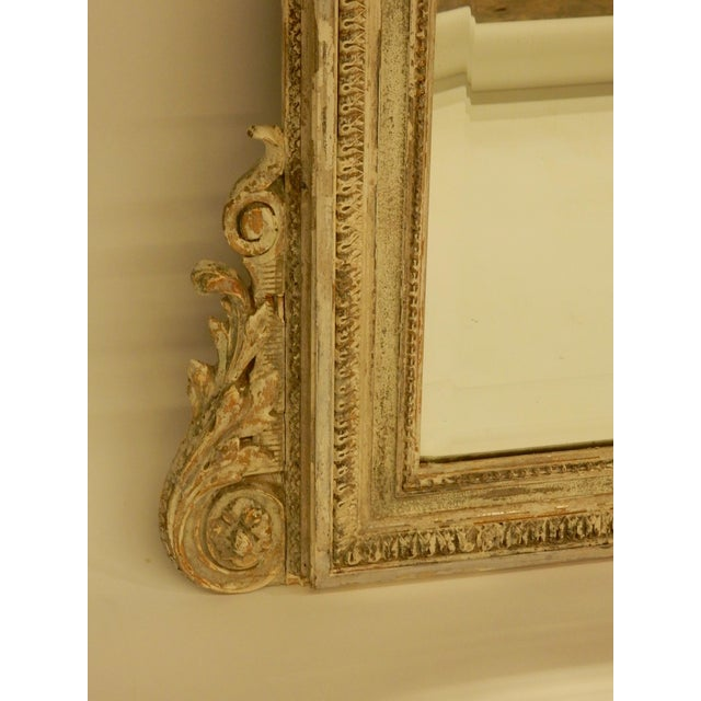 Mid 19th Century 19th C Louis XVI Mirror For Sale - Image 5 of 8